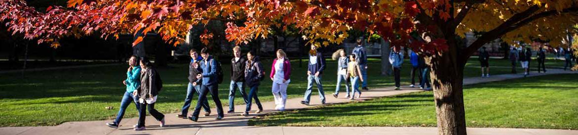 group of admitted students at Case Western Reserve University